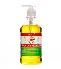 Жидкое мыло ECCO, yellow 500ml